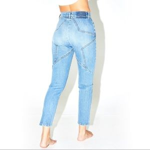 Revice | NWT high wasted star butt jeans 27